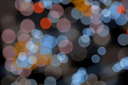 Multicolored Abstract Light Bokeh Background Standard-Bild