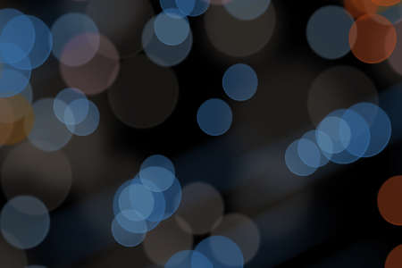 Abstract background for design with bokeh. Standard-Bild