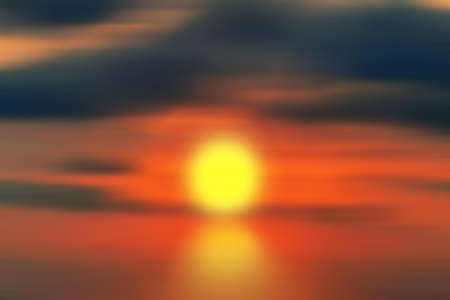 Colorful blurred background. Sunset, beauty in nature.