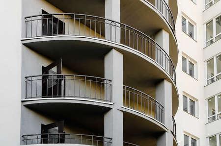 A multi-storey building under construction. Housing problems, Russia. Standard-Bild