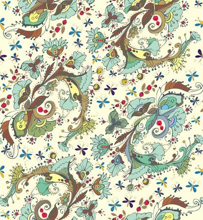 folksy: Floral ornaments.