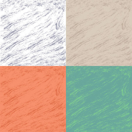 Set of vector grunge monochrome background