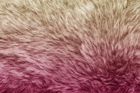 Artificial fur texture background