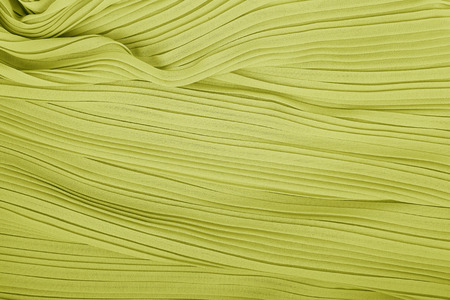 plisse fabric background texture. pleated skirt fabric texture. closeup pleated fabric texture pattern Stock Photo