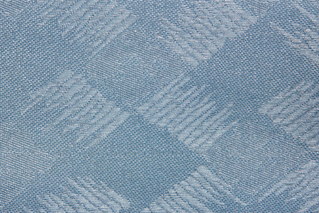 blue Fabric blind curtain texture background can use for backdrop or cover
