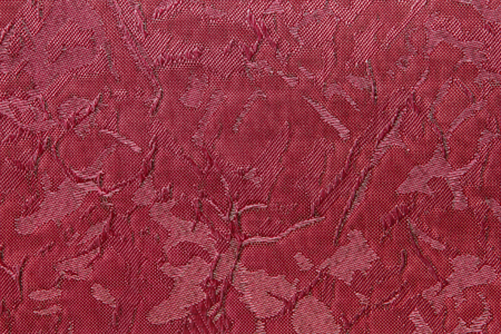 jalousie: crimson red Fabric blind curtain texture background can use for backdrop or cover