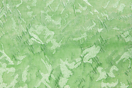 Green Fabric blind curtain texture background can use for backdrop or cover Stock Photo