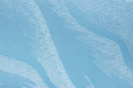 blue Fabric blind curtain texture background Stock Photo