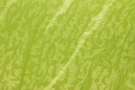 jalousie: Green yellow Fabric blind curtain texture background can use for backdrop or cover Stock Photo