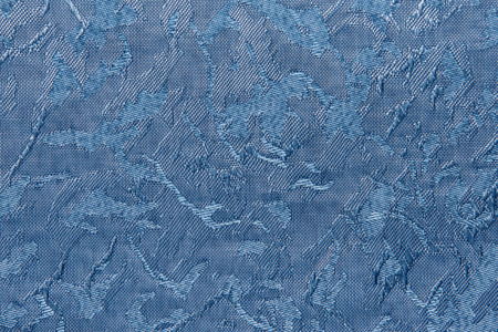 jalousie: blue Fabric blind curtain texture background can use for backdrop or cover
