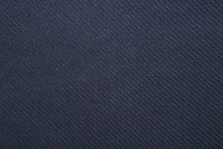 navy twill weave fabric pattern texture background closeup Banco de Imagens