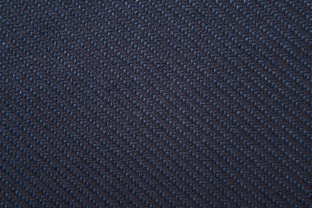 fil: navy twill weave fabric pattern texture background closeup Stock Photo