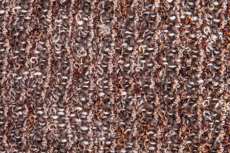 Texture background of melange boucle fabric with lurex thread Foto de archivo