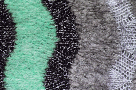 Close-up of mohair fabric textured cloth background. knitted fabric texture