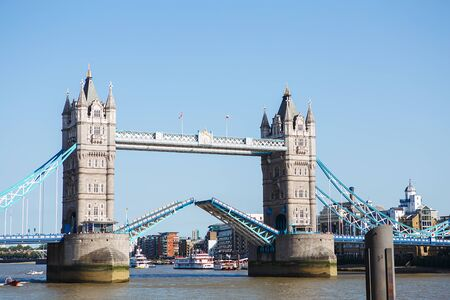 Breeding Tower Bridge. Tower Bridge in London has stood over the River Thames since 1894 and is one of the most recognizable landmarks in the world