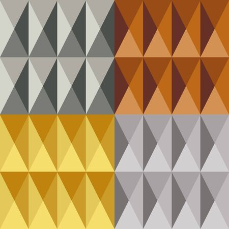 Metal seamless pattern Illustration