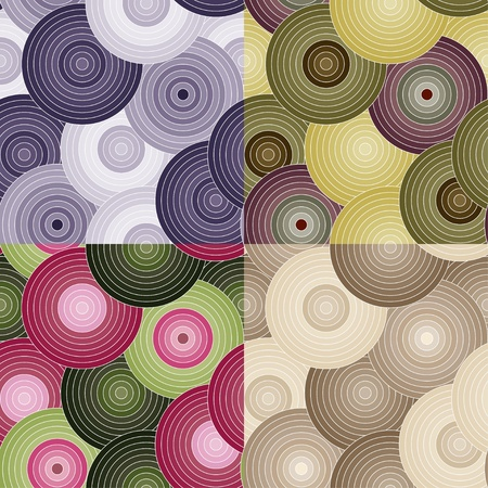 Seamless pattern with colored circles Stock Vector - 16815766