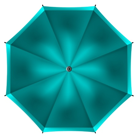 umbrella isolated on white background - vector illustration Stock Vector - 19732375