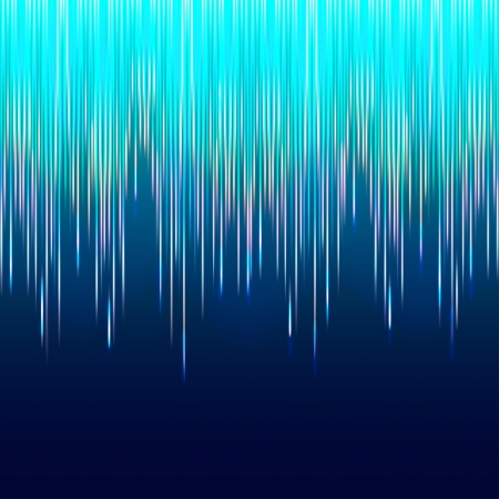 astral: northern lights abstract background - vector illustration