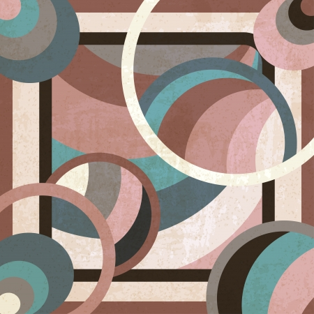 geometric background - vector illustration Vector