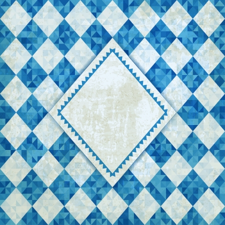 Oktoberfest retro background - vector illustration Illustration