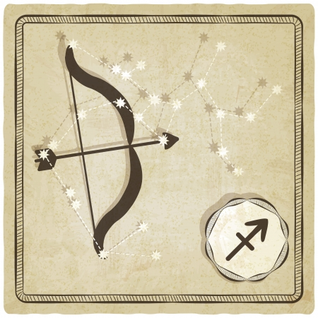 astrological sign - sagittarius - vector illustration Vector