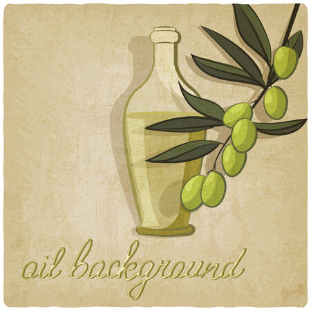 olive branch - vector illustration Vector