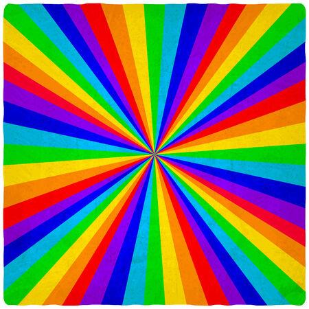 old background: rainbow old background - vector illustration