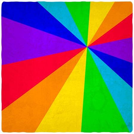 rainbow old background - vector illustration