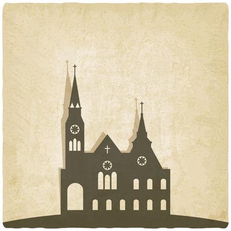 christian background: Catholic church old background