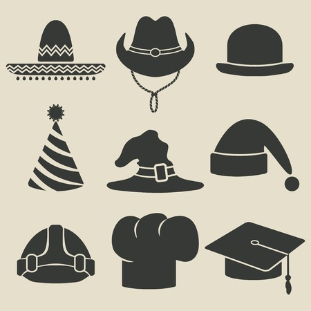 party hat icon - vector illustration. eps 8 Vector