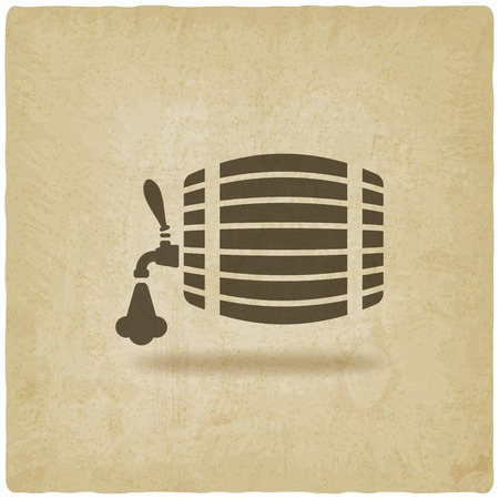 beer barrel: beer barrel old background