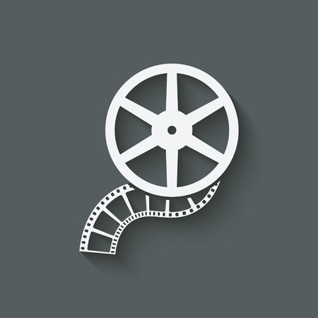 film: film roll design element