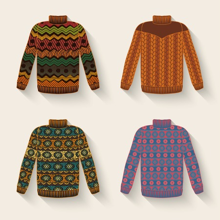 cute sweater set Vectores