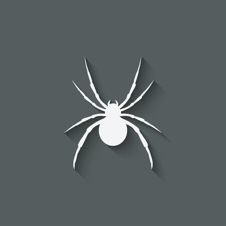 spider: spider design element Illustration