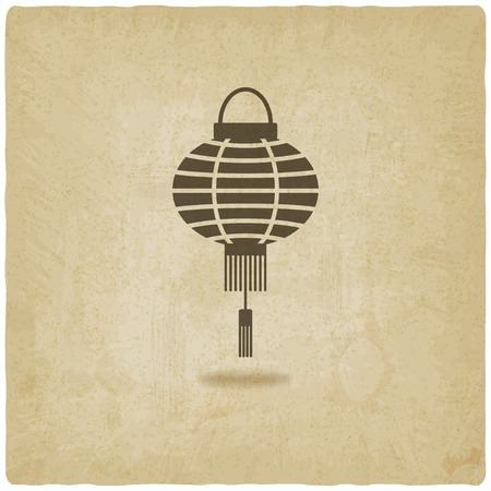 old background: Chinese lantern old background