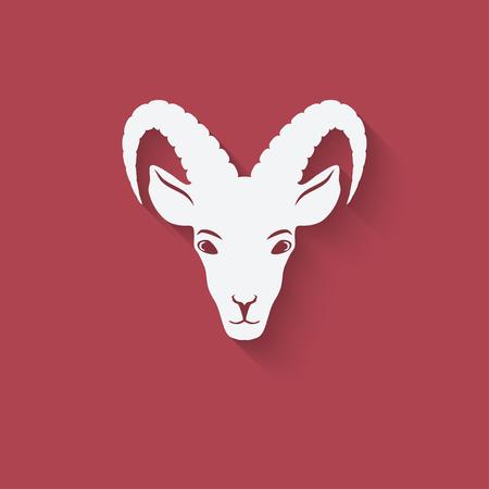 goat head: Goat head symbol