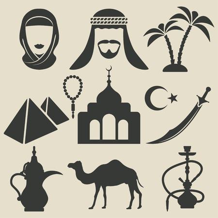 Icônes arabes établies