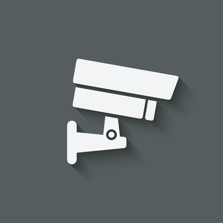 security symbol: security camera symbol