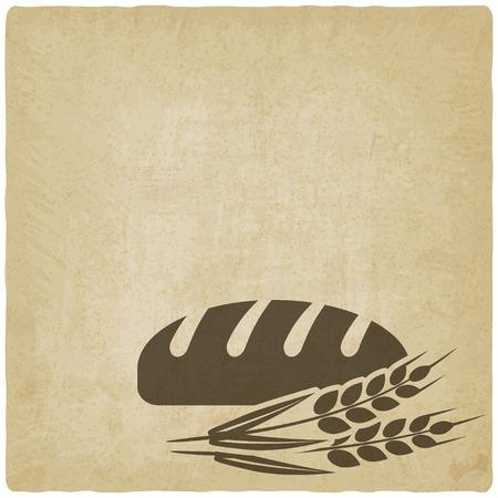bread bakery symbol Vectores