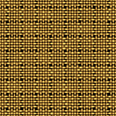 willow fruit basket: golden weave seamless background