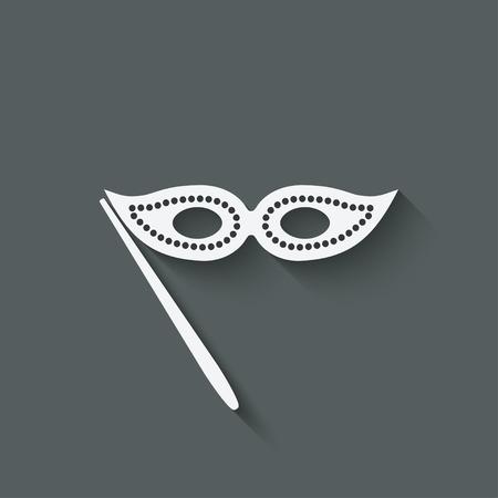 operetta: Masquerade mask symbol