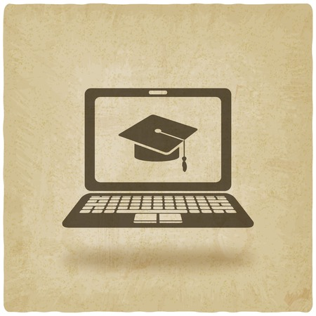 distance online learning symbol
