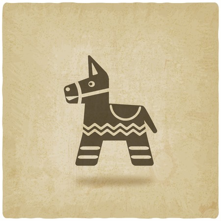 Mexican party pinata Vector Illustration