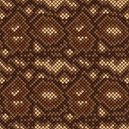 python: snake skin seamless pattern