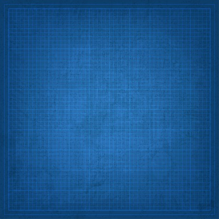 blank spaces: Blueprint old background Illustration
