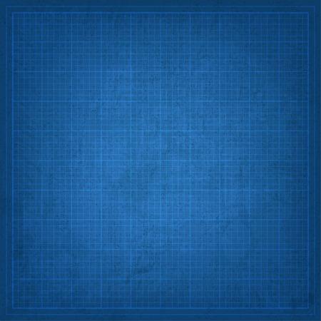 hoja en blanco: Blueprint viejo fondo Vectores