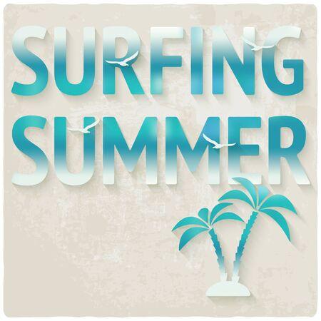 surfing beach: surfing beach summer background