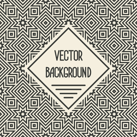 vector background with geometric seamless patterns.  vector illustration - eps 8