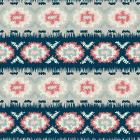fashion pattern: ethnic tribal seamless pattern